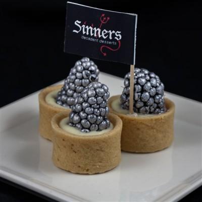 blackberry vanilla tarts